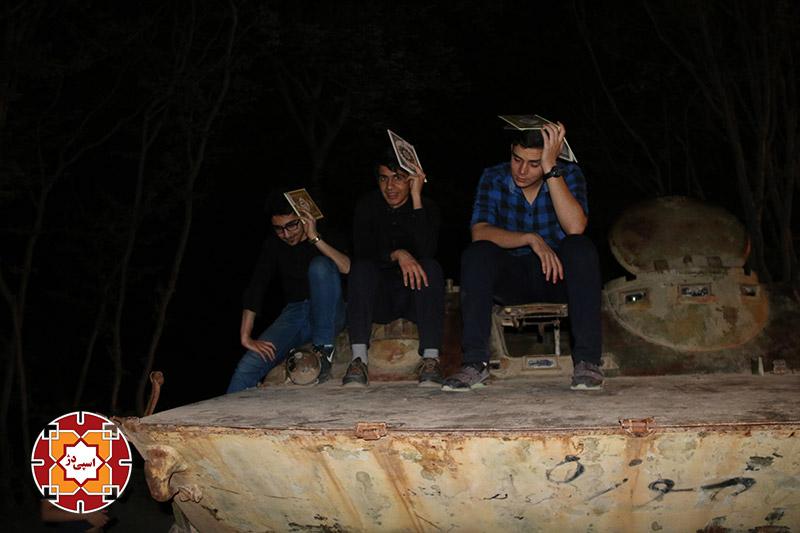 شب دوم قدر تپه نورالشهدا گرگان