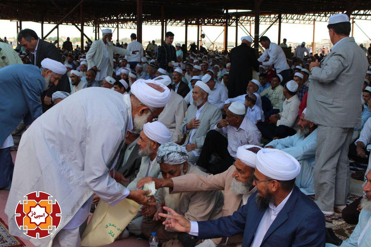 نماز عید فطر اق قلا