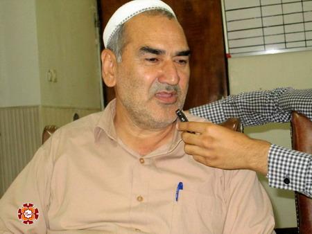 حاج خلیل ماهری رئیس شورای اسلامی شهر آق قلا