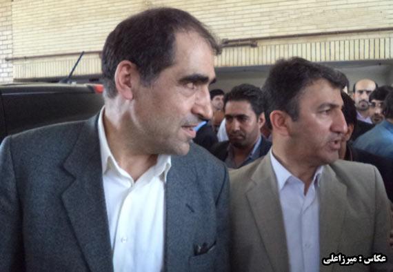وزیر بهداشت بیمارستان آل جلیل آق قلا